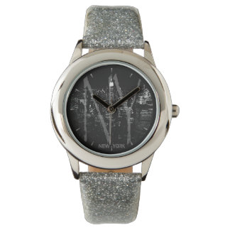 New York Watch NY Empire State Souvenir Wristwatch