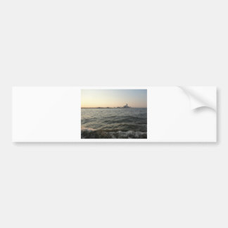 New York Water - ReasonerStore Bumper Sticker