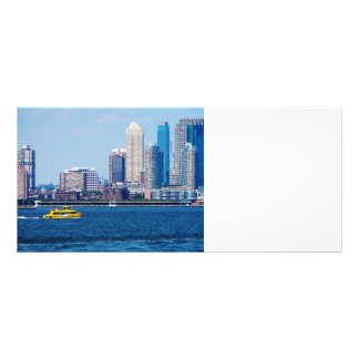 New York Water Taxi Rack Card Template
