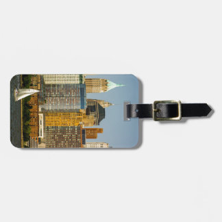 New York Waterfront Luggage Tag