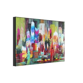 New York Wide 185 Canvas Print