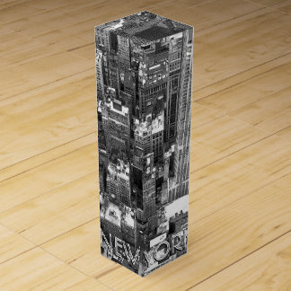 New York Wine Box Customize New York Souvenir
