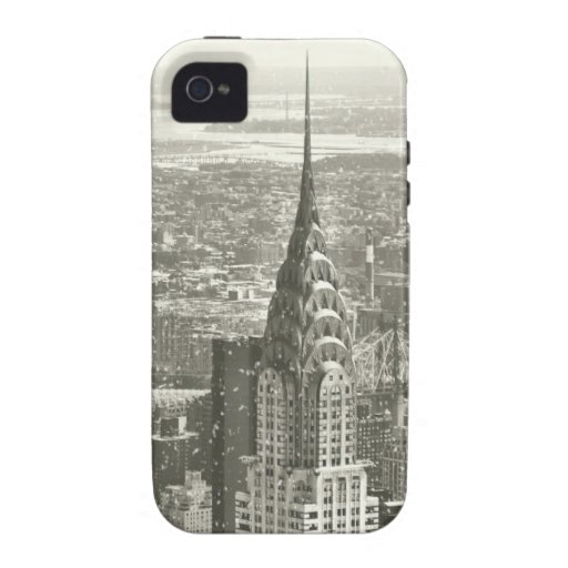 New York Winter Vibe iPhone 4 Case
