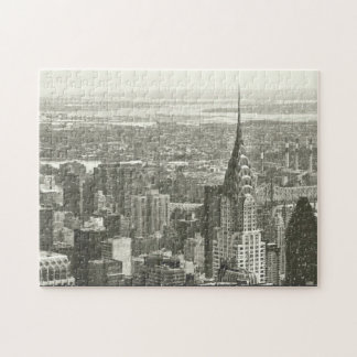 New York Winter Jigsaw Puzzle