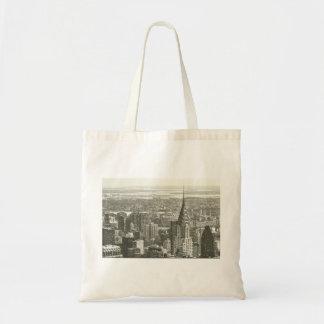 New York Winter Tote Bag