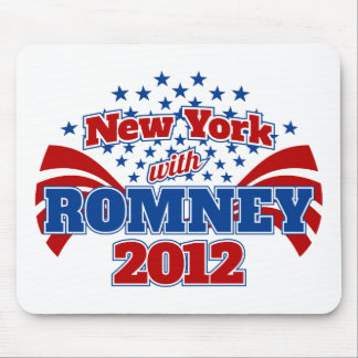 New York with Romney 2012 Mousepad