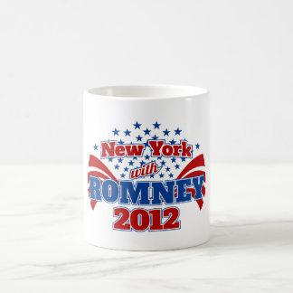 New York with Romney 2012 Coffee Mug