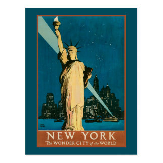 New York Wonder City of the World Postcards