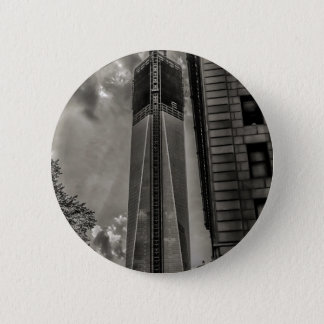 New York World Trade Center Freedom Tower 6 Cm Round Badge