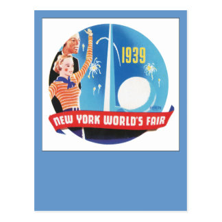 New York World's Fair 1939 Postcard