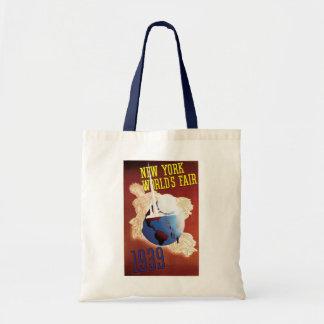 New York World's Fair Budget Tote Bag