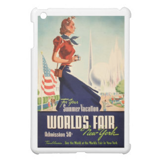 New York World's Fair Poster iPad Mini Cover