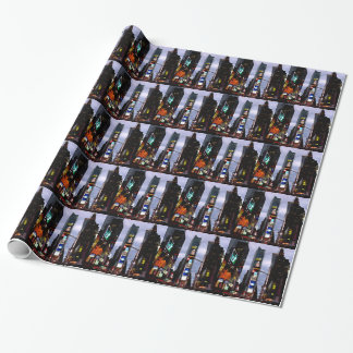 New York Wrapping Paper Times Square Gift Paper