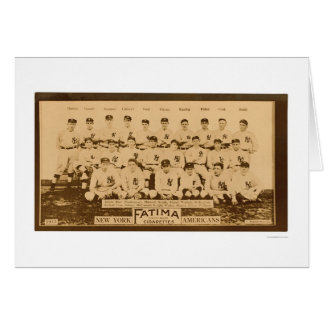 New York Yankees Baseball 1913 Greeting Card