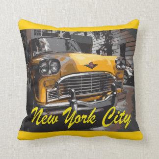 New York Yellow Cab Cushion