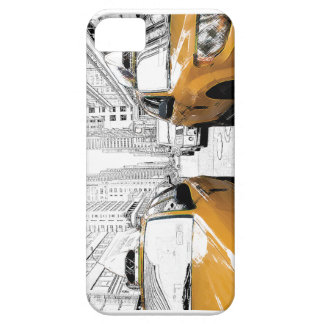 """""""New York Yellow Cabs"""" iPhone 5 Cases"""
