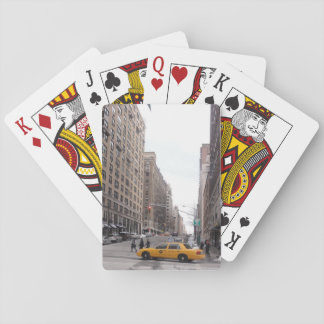 New York Yellow Taxi Playing Cards