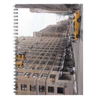 New York Yellow Taxi Spiral Notebook