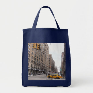 New York Yellow Taxi Tote Bag