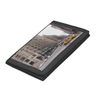 New York Yellow Taxi Tri-fold Wallet