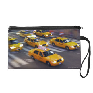 New York Yellow Taxi's Wristlet Clutch