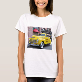New York Yellow Vintage Cab T-Shirt