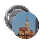 New Yorker 6 Cm Round Badge