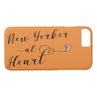 New Yorker At Heart Mobile Phone Case