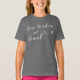 New Yorker At Heart Tee Shirt, NYC