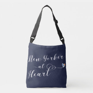 New Yorker At Heart Tote Bag, NYC