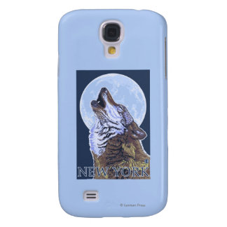 New YorkHowling Wolf Galaxy S4 Case
