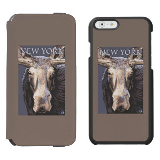 New YorkMoose Up Close Incipio Watson™ iPhone 6 Wallet Case