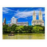 New York's Central Park in the Summertime Postcard