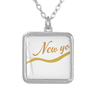New You Square Pendant Necklace