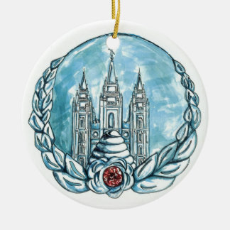 new young womens medallion round ceramic decoration