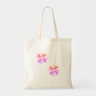 New zazzle bag : with rainbow Purple flowers