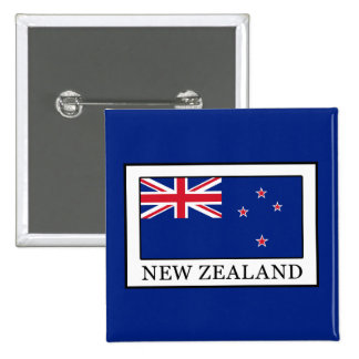 New Zealand 15 Cm Square Badge