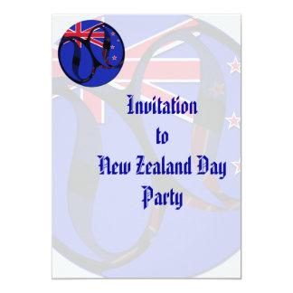 New Zealand #1 13 Cm X 18 Cm Invitation Card