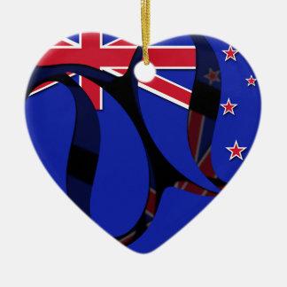 New Zealand #1 Christmas Ornament