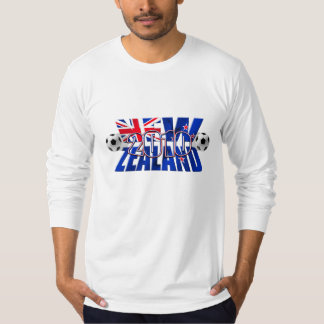 New Zealand 2010 soccer ball T-Shirt