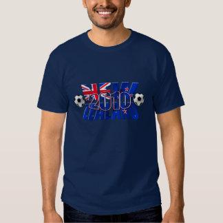 New Zealand 2010 soccer ball Tee Shirts
