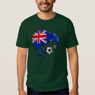 New Zealand 2014 World Brazil Soccer Gift T Shirt
