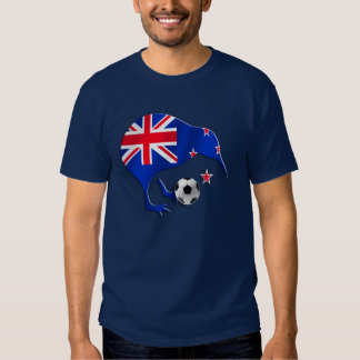 New Zealand 2014 World Brazil Soccer Gift Tees