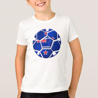 New Zealand 2014 World Cup All whites soccer ball T-Shirt