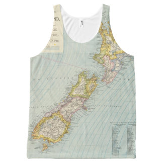 New Zealand 4 All-Over Print Tank Top
