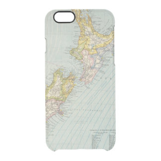 New Zealand 4 Clear iPhone 6/6S Case