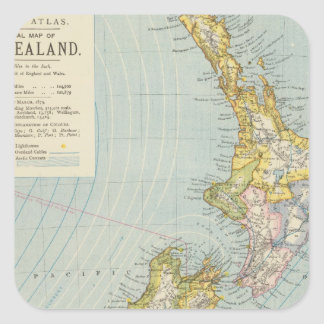 New Zealand 4 Square Sticker