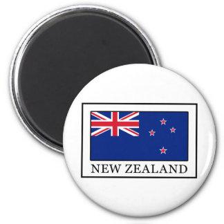 New Zealand 6 Cm Round Magnet