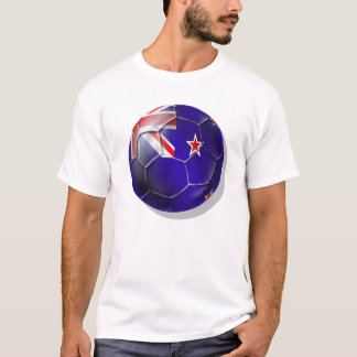 New Zealand All whites kiwi flag Ball T-Shirt