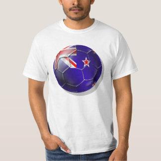 New Zealand All whites kiwi flag Ball T-Shirt
